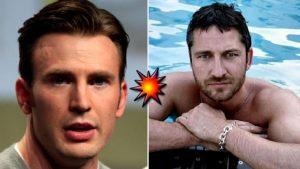 Chris Evans contro Gerard Butler: chi è il più sexy tra i due attori?